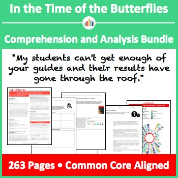 In the Time of the Butterflies – Comprehension and Analysis Bundle
