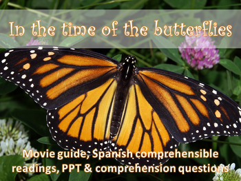 In the Time of the Butterflies Movie Guide
