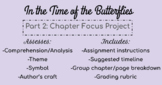 In the Time of the Butterflies Part 2 Project