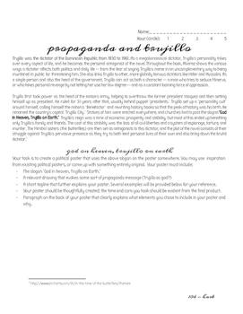 In the Time of the Butterflies Propaganda Poster (Trujillo)