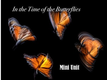 In the Time of the Butterflies Unit Plan