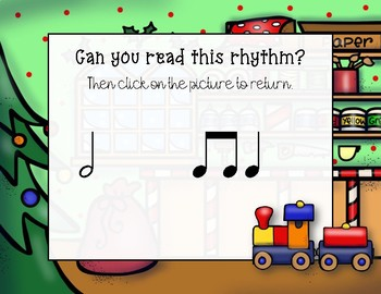 In the Toy Shop - Rhythm Practice Game - Ta-a/Half Note