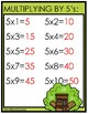 IN THE TREE HOUSE {Multiplying by 5's}