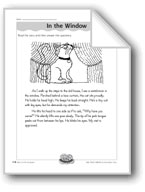 In the Window (Using Adverbs)
