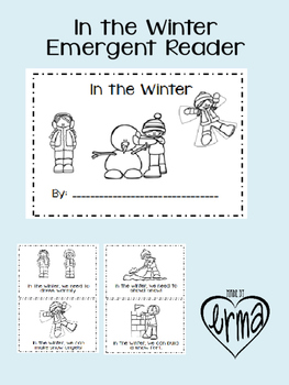 In the Winter Emergent Reader