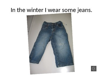 In the Winter I Wear...Free Powerpoint Book