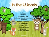 In the Woods - Reading Logs, Bookmarks & More