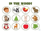 In the Woods Smash Mat (Fall, Wood Animals)