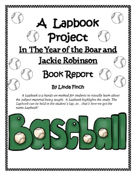 In the Year of Boar and Jackie Robinson Lapbook