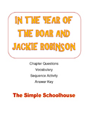 In the Year of the Boar and Jackie Robinson Chapter questions