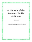 In the Year of the Boar and Jackie Robinson Novel Unit Plus Grammar