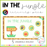 In the jungle - INTERACTIVE ACTIVITY PACK