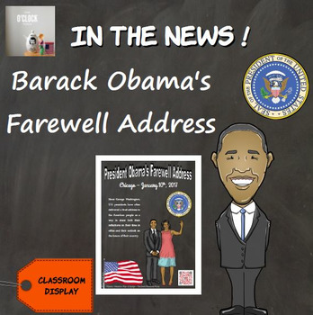 In the news - Barack Obama's Farewell Address