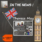 In the news : Theresa May, the new British Prime Minister