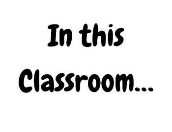 In this Classroom Bulletin Board