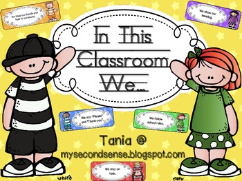 In this Classroom We... (rules and expectations) - Stars