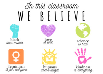 In this classroom...