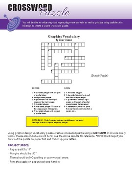 InDesign - Custom Crossword Puzzle