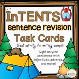 InTENTS Sentence Revision Task Cards