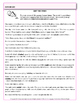 Inappropriate Shifts in Verb Tense  Practice  Worksheets - CCSS  L.5.1.d