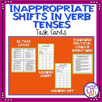 Inappropriate Verb Shift Task Cards