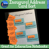 Inaugural Address Card Sort