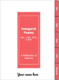 Inaugural Poetry 1961-2021 (Digital Interactive Notebook)