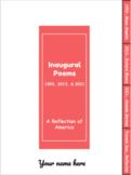 Inaugural Poetry 1993-2021 (Digital Interactive Notebook)