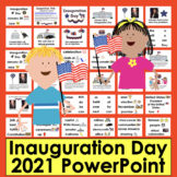 PowerPoint: NO PREP! Inauguration Day 2017 - 2 Levels + Illustrated Vocab Slides