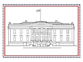 Inauguration Day 2017 White House Post Card