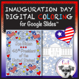 Inauguration Day 2021 Digital Coloring Pages for Google Slides™