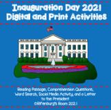 Inauguration Day DIGITAL & PRINT  Activities - 2021 - Inau