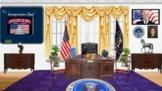 Inauguration Day Bitmoji Virtual Classroom/Presidential In