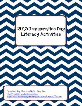 Inauguration Day Literacy Activities 2013