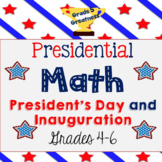 President's Day Math and Inauguration