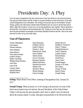 President's Day Play