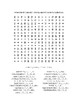 Inauguration Day – President Donald Trump - Word Search! (color version)