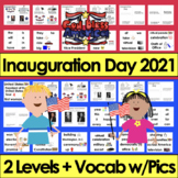 Inauguration Day 2017 Readers Differentiated for Kindergar