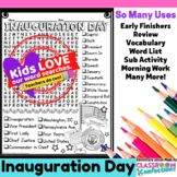 Inauguration Day: Word Search