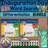 Inauguration Day Word Search BUNDLE