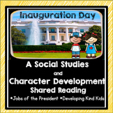 #kindnessnation Inauguration Day and Character Development Shared Reading