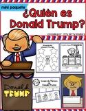 Donald Trump, Presidents Day, in SPANISH