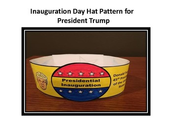 Inauguration Hat for President Trump