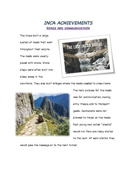 Inca Civilization/Empire