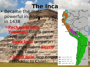 Inca Civilization Guided Notes