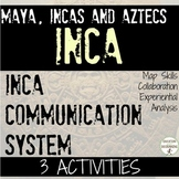 Inca Communication System 3 Activities and informational text