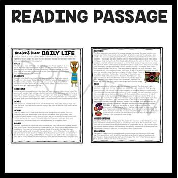 Inca Daily Life, Mesoamerica, Ancient Civilizations, Inca