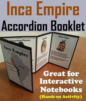 Civilizations of Mesoamerica Project: Inca Empire Activity/ Foldable