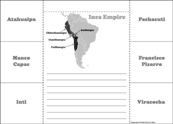 Inca Empire Activity: Civilizations of Mesoamerica Unit