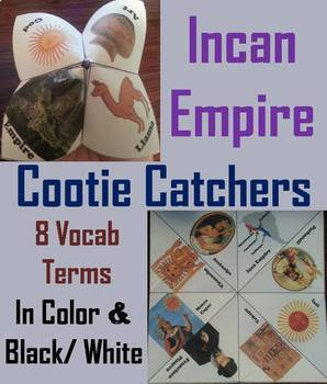Inca Empire Task Cards and Activities Bundle